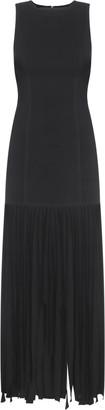BEVZA Maxi Fringe Dress