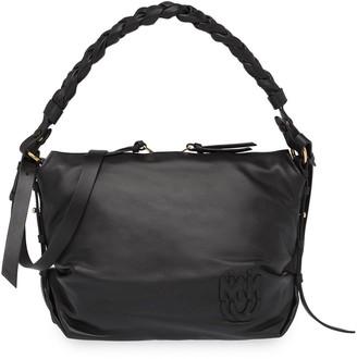 Miu Miu Braided-Handle Shoulder Bag