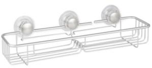 InterDesign Metro Aluminum Turn-n-Lock Extra Large Basket Bedding
