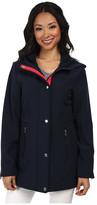 Nautica Hooded Mesh Trim Softshell Jacket