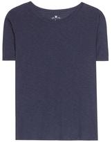 Velvet Lux Cotton-blend T-shirt
