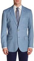Tailorbyrd Silk & Wool Blend Printed Sportcoat