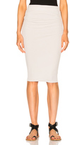 James Perse Double Shirring Skirt