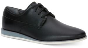 Calvin Klein Men's Kellen Textured Leather Oxfords Men's Shoes