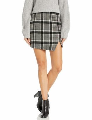 The Fifth Label Women's Treble Check Mini Skirt