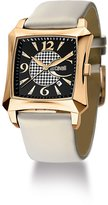 Just Cavalli r7251106625 40mm Gold Plated Stainless Steel Case Beige Leather Acrylic Men's Watch