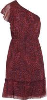 Anna Sui Printed Silk-Georgette Dress