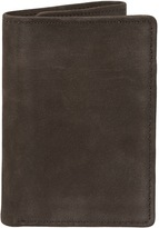 Lee Men's RFID-Blocking Nubuck Leather Trifold Wallet