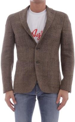 The Gigi Jacket In Brown Wool