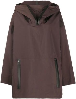 Bottega Veneta Zip-Collar Hooded Parka