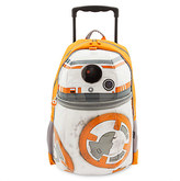 Disney BB-8 Rolling Backpack - Star Wars: The Last Jedi