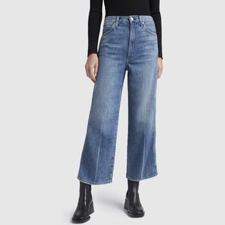Amo Ava Crop High-Rise Wide Leg Jeans