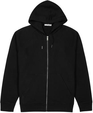 Givenchy Black logo-print cotton-jersey sweatshirt