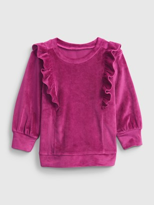 Gap Toddler Velour Tunic Shirt