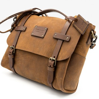 The Dust Company Mod 161 Messenger In Heritage Brown