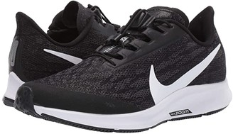 Nike FlyEase Air Zoom Pegasus 36 (Black/White/Thunder Grey) Women's Shoes
