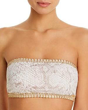 Solange Platinum Inspired By Ferrarini Platinum Cobra Bandeau Bikini Top - 100% Exclusive