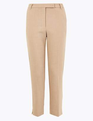 Marks and Spencer PETITE Slim Ankle Grazer Trousers
