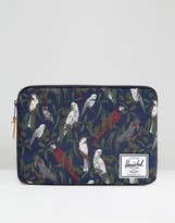 Herschel Anchor Sleeve For Macbook 13in In Navy