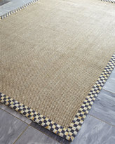 "Mackenzie Childs MacKenzie-Childs Courtly Check Sisal Runner, 2'5"" x 9'"