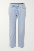 Gold Sign + Net Sustain The Low Slung Cropped Mid-rise Straight-leg Jeans