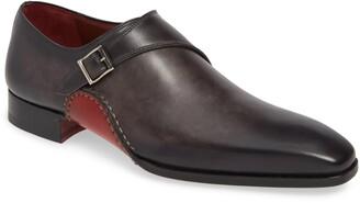 Magnanni Carrera Monk Strap Shoe