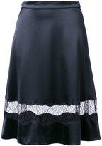 Alexander Wang lace panel skirt - women - Silk - 0