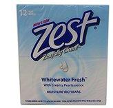 Zest 12-Bar Bath Size Soap, Whitewater Fresh, 4 Ounce