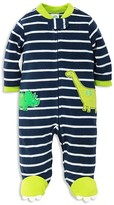 Little Me Boys' Dino Microfleece Sleeper - Baby