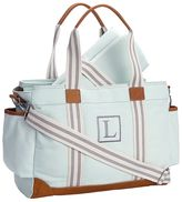 Pottery Barn Kids Aqua Classic Diaper Bag