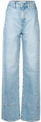 Nobody Denim high rise Juncture straight jeans