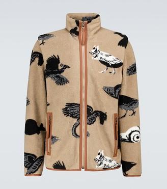 Loewe Jacquard fleece jacket