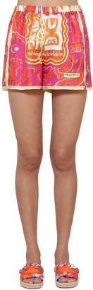 Emilio Pucci Printed Silk Twill Shorts