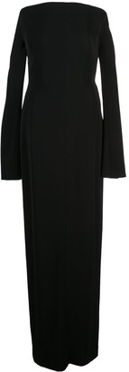 Thierry Mugler Off Shoulder Gown