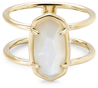 Kendra Scott Elyse Gold Vermeil Double Band Ring