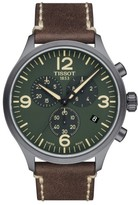 Tissot Men's Chrono Xl Leather Strap Chronograph Watch, 45Mm