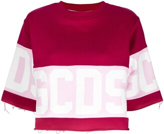 GCDS Logo-Print Sweatshirt