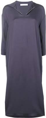 Fabiana Filippi bead-embellished twill dress