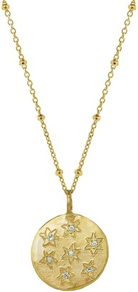 Yvonne Henderson Jewellery Multi Star Disc Necklace In Gold