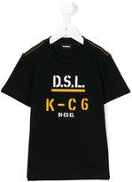 Diesel Taito slim T-shirt - kids - Cotton - 6 yrs