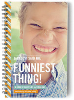 Minted The Funniest Thing Day Planner, Notebook, or Address Book