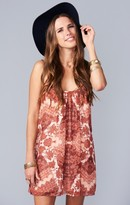 MUMU Trapeze Mini Dress ~ Happy Henna