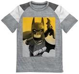 Batman Boys' The LEGO Movie T-Shirt- Grey