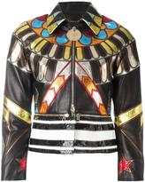 Givenchy embroidered patchwork jacket