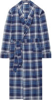 Derek Rose - Ranga 31 Checked Cotton Robe