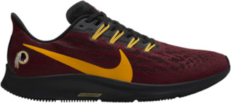 Nike Pegasus 36 NFL Running Shoes - Washington Redskins - Team Red / Gold Black