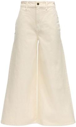 KHAITE Darcy Wide Leg Cotton Denim Jeans