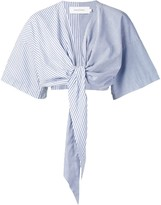 Marques Almeida Tie Front Blouse