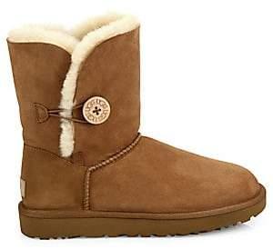 UGG Women's Bailey Button II Sheepskin-Lined Suede Boots