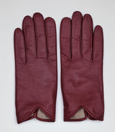 Reiss Inca LEATHER DRIVING GLOVES